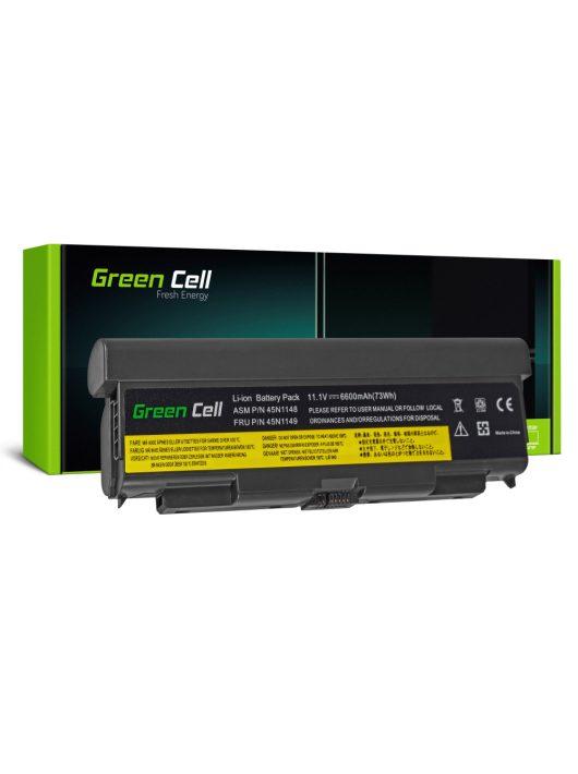 Bővített Green Cell Laptop akkumulátor / akku Lenovo ThinkPad T440P T540P W540 W541 L440 L540
