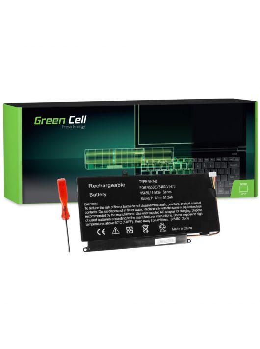 Green Cell Laptop akkumulátor / akku Dell Vostro 5460 5470 5480 5560 és Dell Inspiron 14 5439