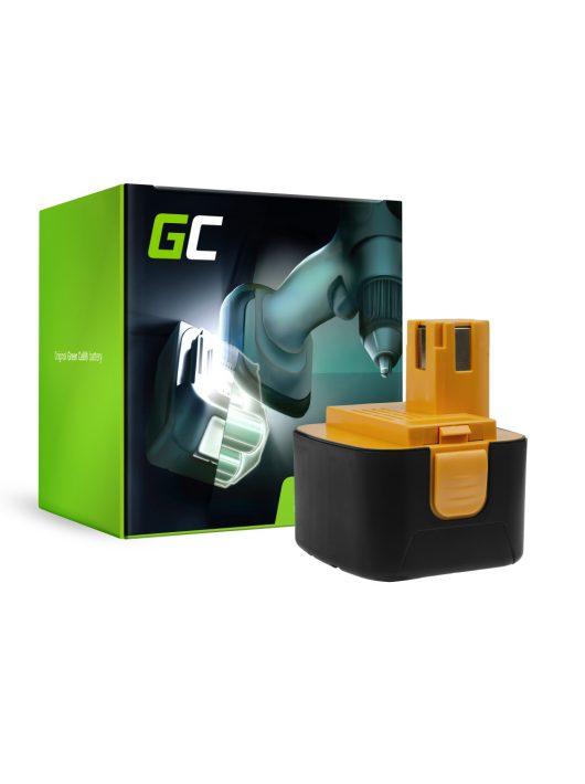 Green Cell Kéziszerszám akkumulátor / akku Panasonic EY9001 EY9101 EY9108 EY9200 EY9201 12V 3.3Ah