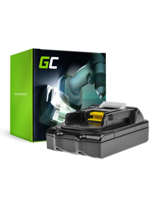 Green Cell Kéziszerszám akkumulátor / akku Makita BL1815 BL1830 BL1840 BDF450SFE 18V 1.5Ah Samsung