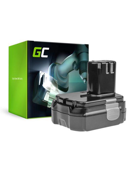 Green Cell Kéziszerszám akkumulátor / akku Hitachi CJ14DL BCL1415 14.4V 2.5Ah