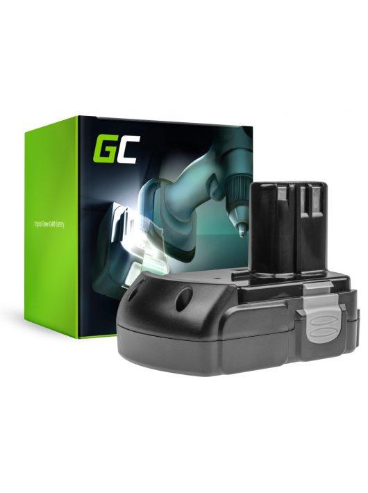 Green Cell Kéziszerszám akkumulátor / akku Hitachi BCL1830 BCL1815 EBM1830 327730 18V 2.5Ah