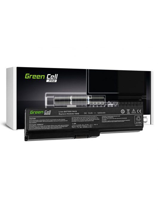 Green Cell Pro Laptop akkumulátor / akku Toshiba Satellite A660 C650 C660 C660D L650 L650D L655 L670 L670D L675