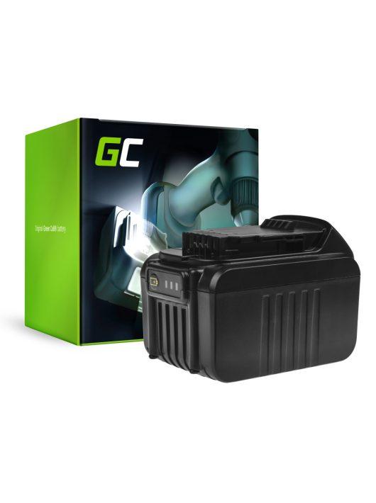 Green Cell Kéziszerszám akkumulátor / akku DeWalt DCB140 DCB141 DCB142 DCB140-XJ DCB141-XJ 14.4V 6Ah