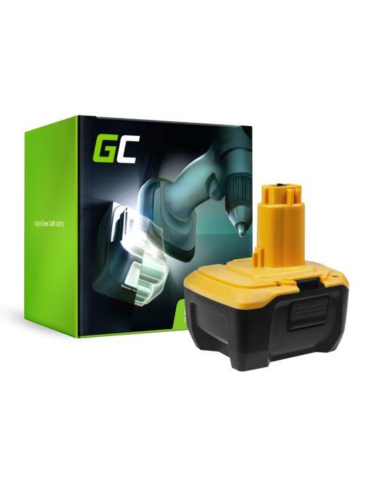 Green Cell Kéziszerszám akkumulátor / akku DeWalt DE9141 DE9140 DC737KL DC733KL DC733C2 14.4V 3Ah