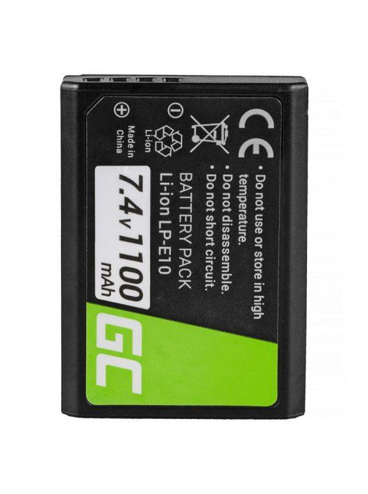 Digitális Kamera  akkumulátor / akku Canon EOS Rebel T3 T6,  Kiss X50,  Kiss X70,  EOS 1100D,  1200D,  1300D 7.4V 1100mAh,  T5,