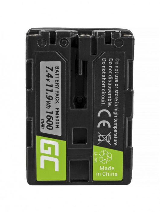 Digitális Kamera akkumulátor / akku Sony A58 A65, A77, A99, A900, A700, A580, A56, 0 A55, 0 A850, SLT A99 II 7.4V 1600mAh, A57 CB49