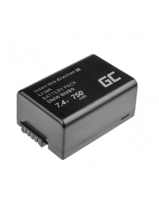 Digitális Kamera akkumulátor / akku Panasonic Lumix DMC-FZ70 DMC-FZ100, DMC-FZ40, DMC-FZ47, DMC-FZ150 7.4V 750mAh, DMC-FZ60 CB55