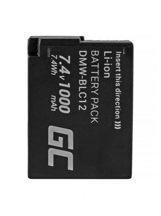Green Cell Digitális Kamera  akkumulátor / akku Panasonic FZ2000 FZ1000,  FZ300,  G6M,  GX8M,  G70M,  G70KA 7.4V 1000mAh,  G81