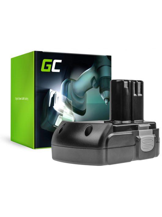 Green Cell Kéziszerszám akkumulátor / akku Hitachi BCL1815 C18DL 18V 1.5Ah
