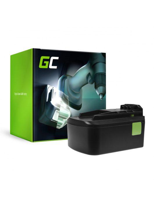 Green Cell Kéziszerszám akkumulátor / akku Festool BPC18 18V 5Ah