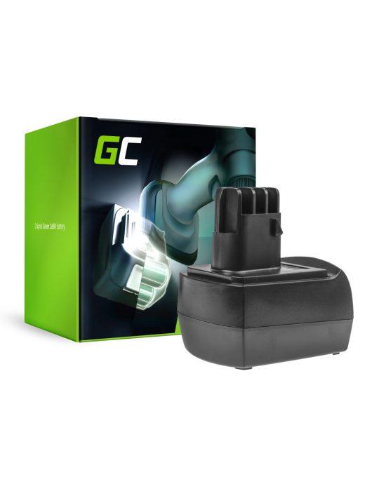 Green Cell Kéziszerszám akkumulátor / akku Metabo BST12 IMPULS 12V 3Ah
