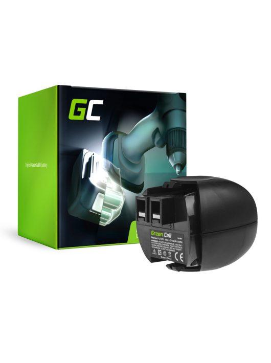Green Cell Kéziszerszám akkumulátor / akku Metabo 6.27270 4.8V 2.1Ah