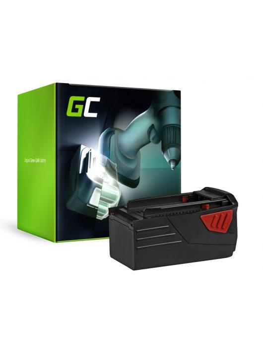 Green Cell Kéziszerszám akkumulátor / akku HILTI TE6A 36V 3Ah