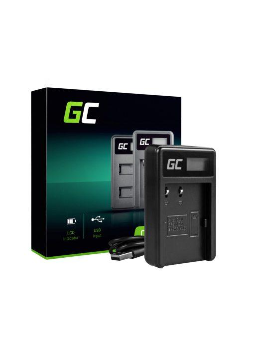 Green Cell akkumulátor / akku Töltő CB-5L  Canon BP-511,  10D,  20D,  30D,  50D,  D30,  300D,   G1,  G2,  G3,  G5,  Pro 1,  EOS 5D,