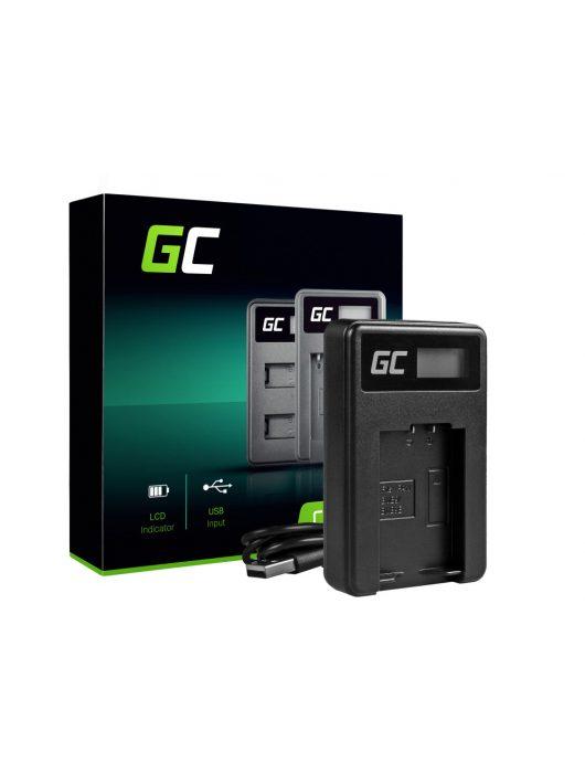 Green Cell akkumulátor / akku Töltő DE-A83,  Lumix DMC-FZ70,  DMC-FZ60,  DMC-FZ100,  DMC-FZ40,  DMC-FZ47,  DE-A84 Panasonic DMW-MBM9