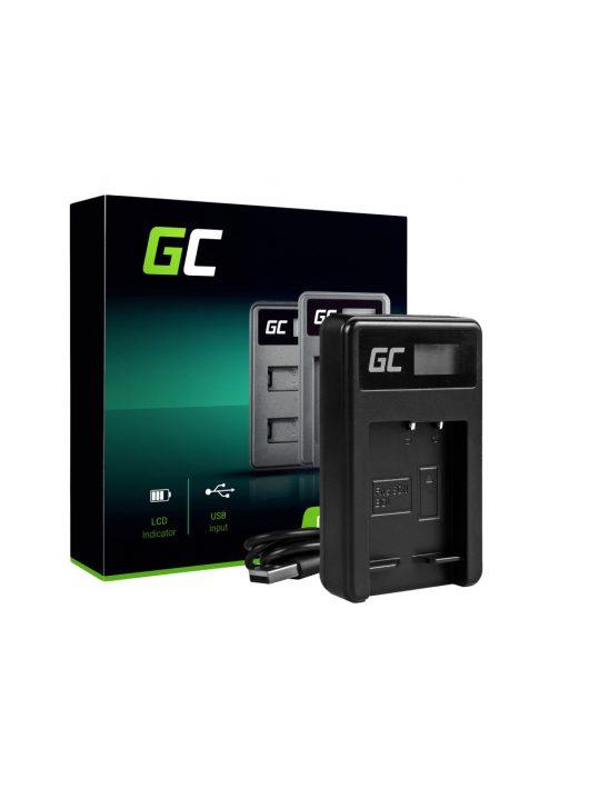 Green Cell akkumulátor / akku Töltő BC-CSG  Sony NP-BG1/NP-FG1 H20,  H50,  HX5,  HX10,  T50,  W50,  W70,  DSC H10