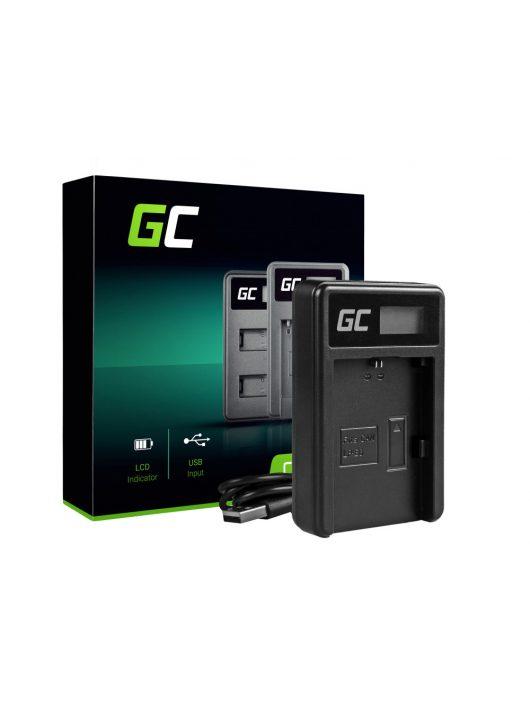 Green Cell akkumulátor / akku Töltő LC-E6  Canon LP-E6 5D Mark II/ III,  80D,  7D Mark II,  60D,  6D,  7D,  EOS 70D