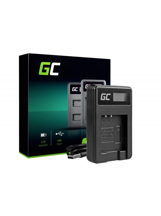 Green Cell akkumulátor / akku Töltő LI-50C Olympus LI-50B SZ-16,  Kemény 6000, 8000,  TG-820,  TG-830,  TG-850,  VR-370,  SZ-15