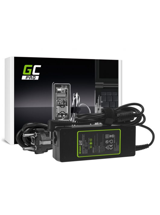 Green Cell PRO Töltő / Hálózati Töltő Fujitsu 20V 4.5A (5.5mm-2.5mm)
