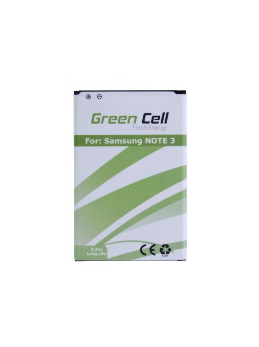 Green Cell Smartphone akkumulátor / akku Samsung Galaxy Nemte 3