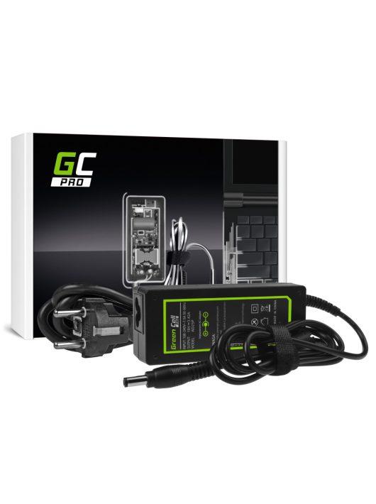 Green Cell PRO Hálózati Adapter Töltő Toshiba Satellite C650 C660D L750 Asus X550C X550V R510 Lenovo G530 19V 3.42A