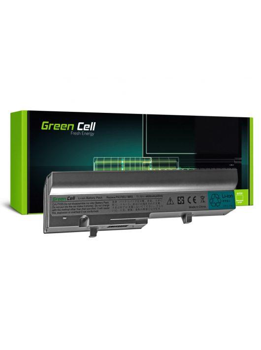 Green Cell Laptop akkumulátor / akku Toshiba Mini NB300 NB305 Ezüst