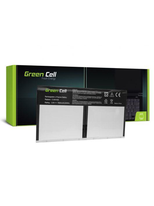 Green Cell Laptop akkumulátor / akku C12N1435  Asus Transmer Book T100H T100HA