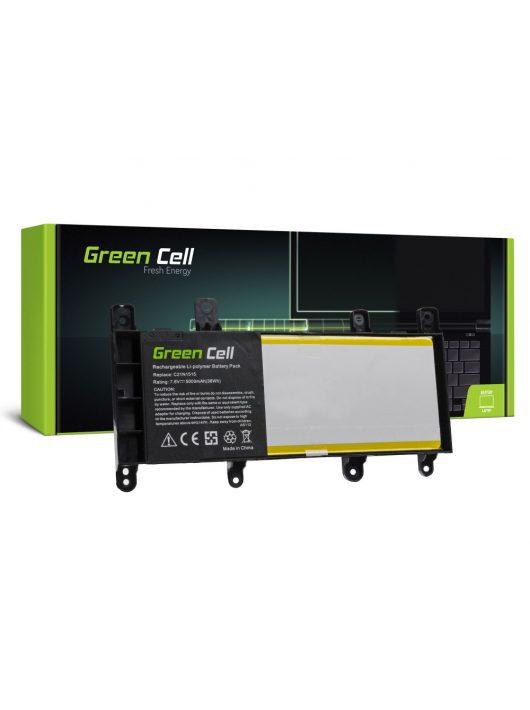 Green Cell Laptop akkumulátor / akku Asus X756U X756UA X756UQ X756UV X756UX