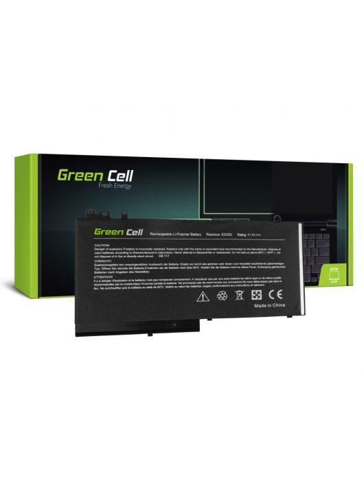 Green Cell Laptop akkumulátor / akku Dell Latitude 11 3150  3160 12 E5250 E5270