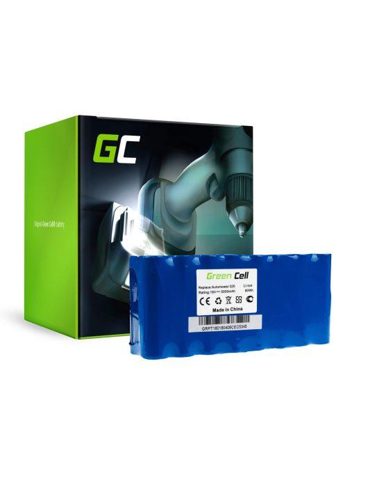 Green Cell Kéziszerszám akkumulátor / akku Husqvarna Automower 320 330X 430 18V 5Ah
