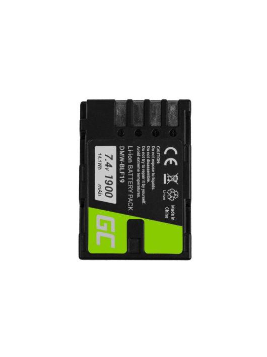 Digitális kamera akkumulátor / akku Panasonic Lumix DC-G9 DC-GH5 DC-GH5s DMC-G9 DMC-GH3 DMC-GH4 7.2V 1860mAh