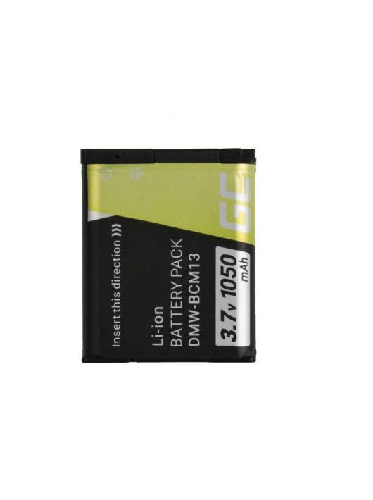 Digitális kamera akkumulátor / akku Panasonic Lumix DMC-FT5 DMC-TS5 DMC-TZ40 DMC-TZ60 DMC-ZS30 DMC-ZS40 DMC-ZS50 3.7V 1050mAh CB70