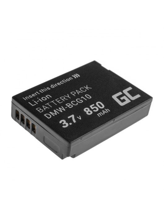 Digitális kamera akkumulátor / akku Panasonic Lumix DMC-FT5 DMC-TS5 DMC-TZ40 DMC-TZ60 DMC-ZS30 DMC-ZS40 DMC-ZS50 3.7V 1050mAh