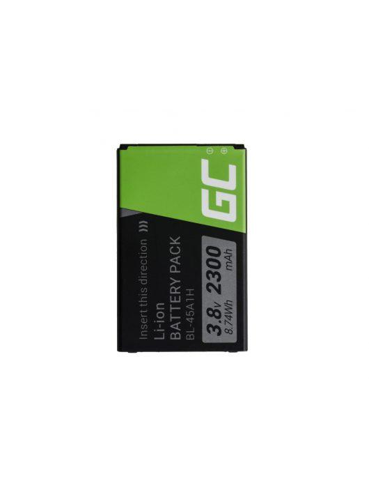 Green Cell akkumulátor / akku BL-45A1H  telefon LG K10 K420n K430
