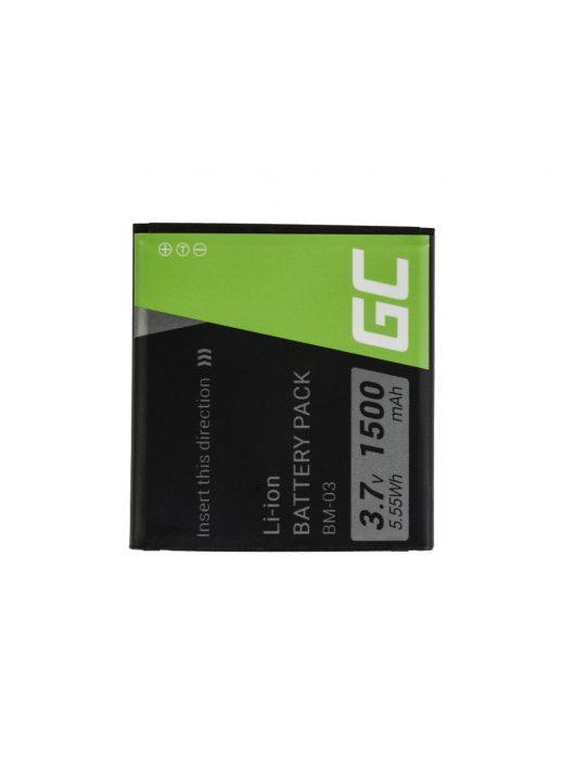 Green Cell akkumulátor / akku BM-03  telefon myPhone C-Smart Funky