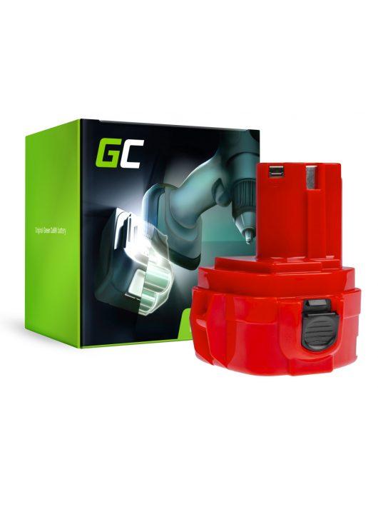 Green Cell akkumulátor / akku 1220 1222 PA12 Makita 1050D 4191D 6270D 6271D 6316D 6835D 8280D 8413D 8434D