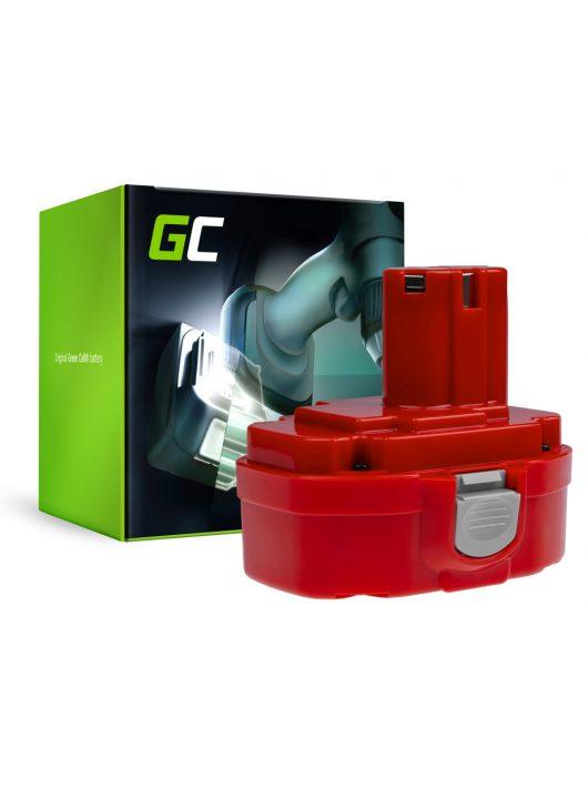 Green Cell akkumulátor / akku 1822 1833 PA18 Makita 4334D 6343D 6347D 6349D 6390D 8390D 8391D
