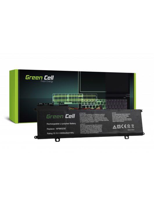 Green Cell akkumulátor / akku AA-PLVN8NP  Samsung NP770Z5E NP780Z5E ATIV Book 8 NP870Z5E NP870Z5G NP880Z5E