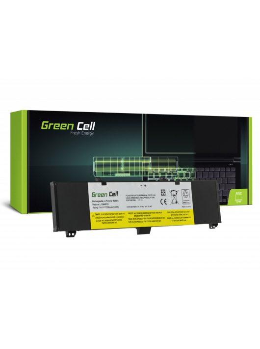Green Cell akkumulátor / akku L13M4P02  Lenovo Y50 Y50-70 Y70 Y70-70