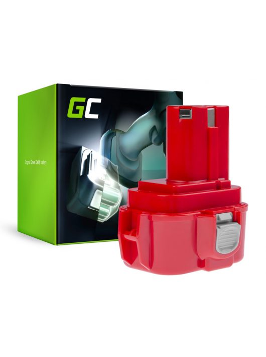 Green Cell akkumulátor / akku 9120 9122 9134 9135 PA09 Makita 6207D 6222D 6261D 6503D 6909D 6991D