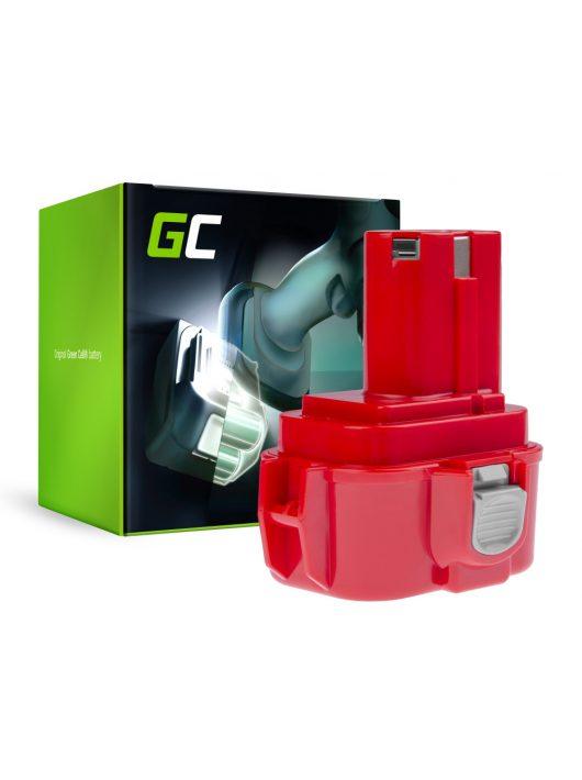 Green Cell akkumulátor / akku 9120 9122 9134 9135 PA09 Makita 6207D 6222D 6261D 6503D 6909D 6991D PT188