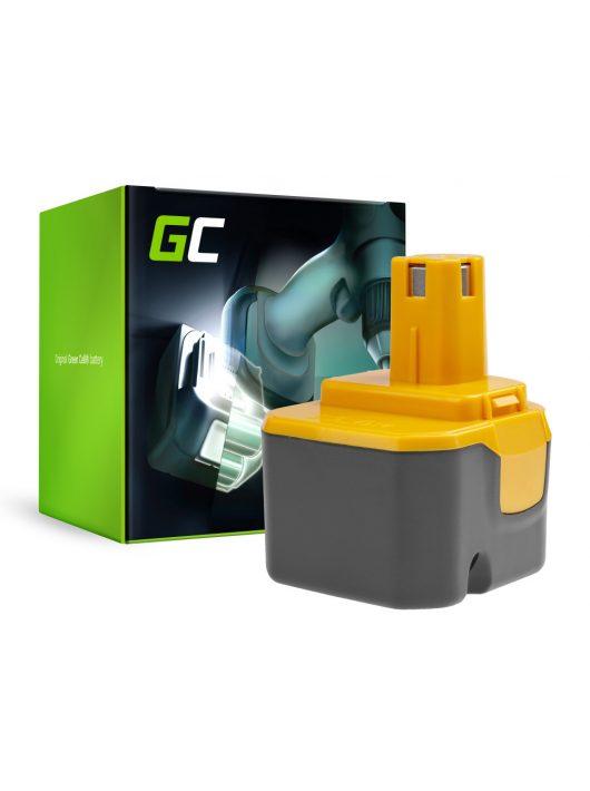 akkumulátor / akku  B1222H B1230H BPT1025 Green Cell  Ryobi BD120 BD121 BD122 BID1211 BID1260 SA1202