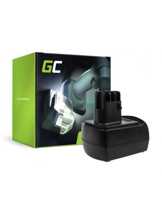 akkumulátor / akku  Green Cell 9.6V 2.1Ah  Metabo BS BST BSZ BZ 9.6 Impuls SP ULA 9.6-18