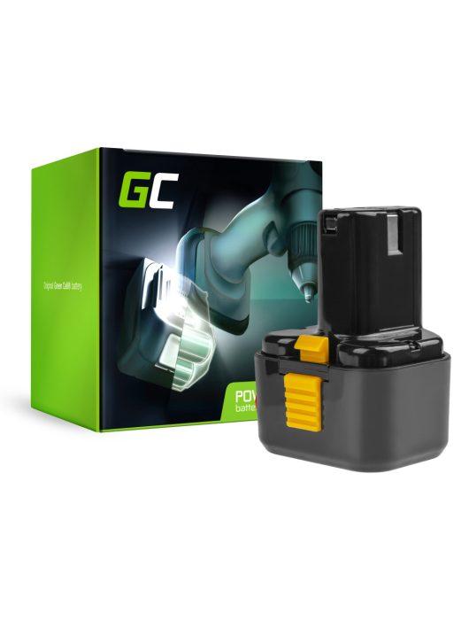Green Cell kéziszerszám akkumulátor / akku Hitachi EB9B EB926H EB930H 9.6V 2Ah