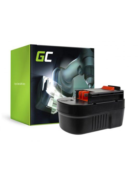 akkumulátor / akku  A14 HPB14 FSB14 Green Cell  Black&Decker CP14K EPC14 EPC14CA HP142K XTC143 Firestorm FS1400 FS14PS PS142K