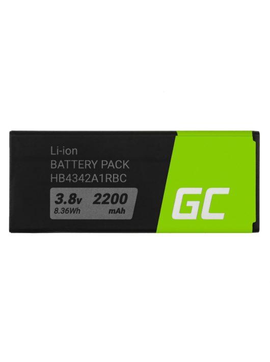 Green Cell akkumulátor / akku HB4342A1RBC  telefon Huawei Ascend Y5 II Y6 Honor 4A 5