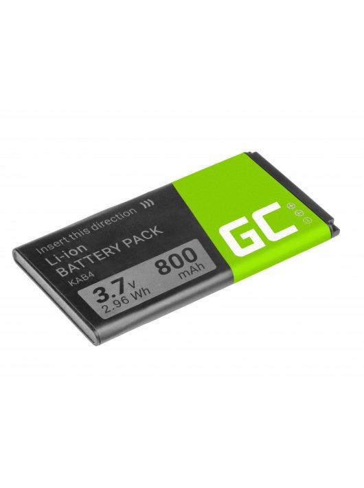 Green Cell akkumulátor / akku KAB4  telefon Kazam Life B4 Maxcom MM720