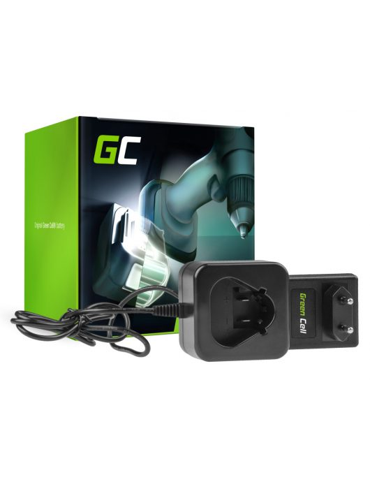 Töltő C12 C 12.6V Green Cell  Milwaukee 10.8-12V Li-Ion C12B M12B2 M12B3 M12B4 M12B6 M12BD