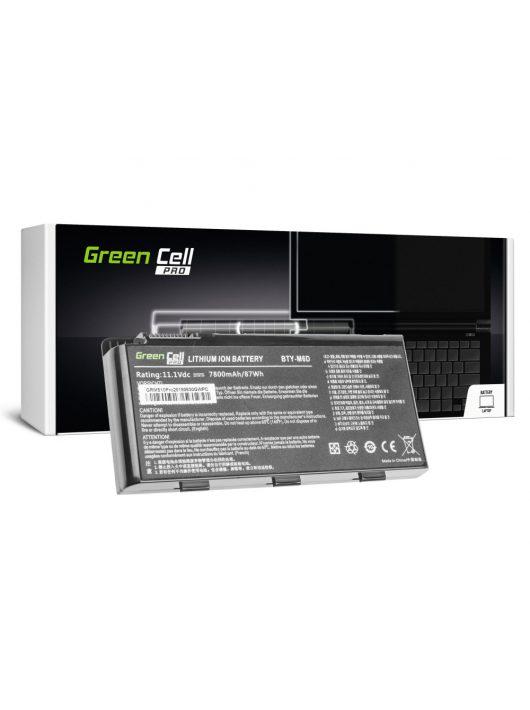 Green Cell Pro akkumulátor / akku BTY-M6D  laptop MSI GT60 GT70 GT660 GT680 GT683 GT780 GT783 GX660 GX680 GX780